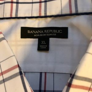 Banana Republic Dress Shirt XL Slim Fit
